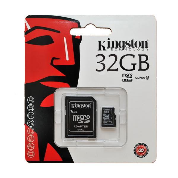 kingston micro 32gb class 10