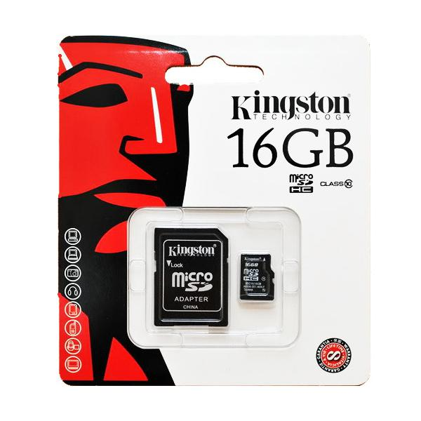 kingston micro 16gb class 10